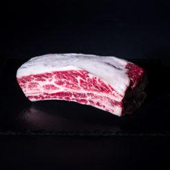 Plat de côte viande boeuf wagyu kamakle