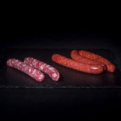 Saucisse Merguez - viande de boeuf charolaise française - kamakle